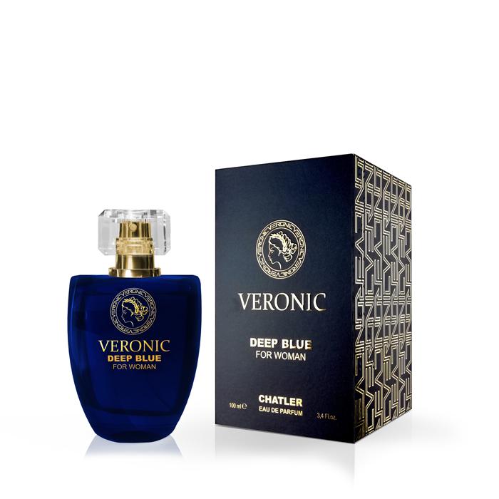 Veronic Deep Blue Woman